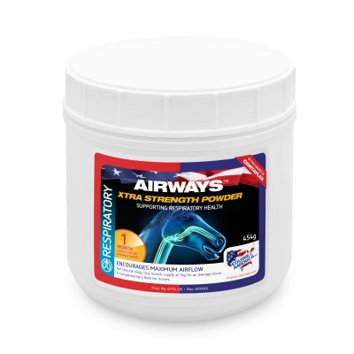 AIRWAYS EXTRA STRENGTH POWDER 500 g (zapas na 1 m-c)